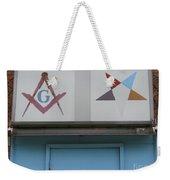 Freemasons Weekender Tote Bag