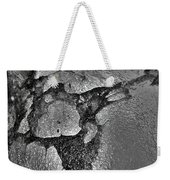 Freeway Pole Art Sailor-pole Art Photo Series Silver  Black Weekender Tote Bag