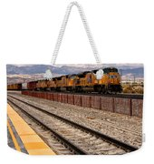 Freight Expectations Palm Springs Weekender Tote Bag