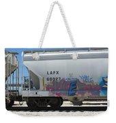 Freight Train Graffiti 7 Weekender Tote Bag