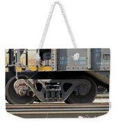 Freight Train Wheels 1 Weekender Tote Bag