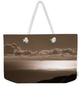 Freighter And The Catalina Channel Weekender Tote Bag
