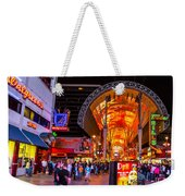 Fremont Street Lights 2 Weekender Tote Bag
