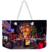 Fremont Street Lights 3 Weekender Tote Bag