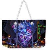 Fremont Street Lights Weekender Tote Bag