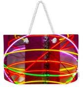 Fremont Street Neon Sphere Weekender Tote Bag