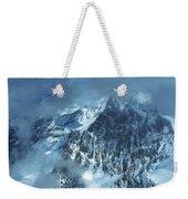 French Alps Weekender Tote Bag