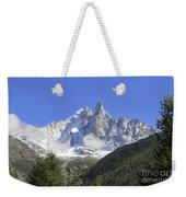 French Alps Weekender Tote Bag