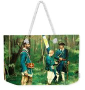 French And Indian War Weekender Tote Bag