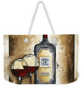 French Bordeaux Original Madart Painting Weekender Tote Bag
