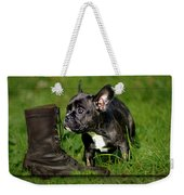 French Bulldogs Weekender Tote Bag by Heike Hultsch