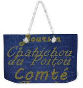 French Cheeses - 2 Weekender Tote Bag