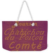 French Cheeses - 3 Weekender Tote Bag