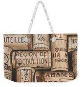 French Corks Weekender Tote Bag
