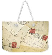 French Correspondence From Ww1 #1 Weekender Tote Bag
