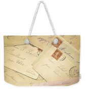 French Correspondence From Ww1 #2 Weekender Tote Bag