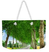French Country Road Weekender Tote Bag