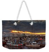 French Creek Sunrise Weekender Tote Bag