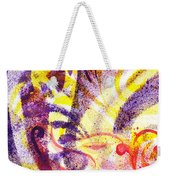 French Curve Abstract Movement II Weekender Tote Bag