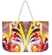 French Curve Abstract Movement Vi Mystic Flower Weekender Tote Bag