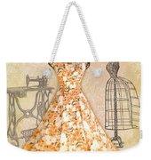 French Dress Shop-c Weekender Tote Bag