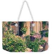 French Floral Shop Weekender Tote Bag