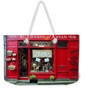 French Gift Shop Weekender Tote Bag
