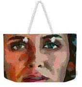 French Gypsy Girl Weekender Tote Bag