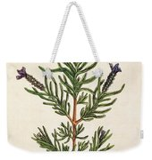 French Lavender Weekender Tote Bag