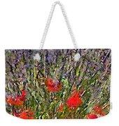 French Lavender Field Weekender Tote Bag