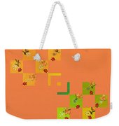 French Lillies Abstract Weekender Tote Bag