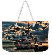French Naval Frigate Weekender Tote Bag