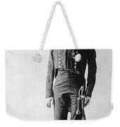 French Officer, 1814 Weekender Tote Bag