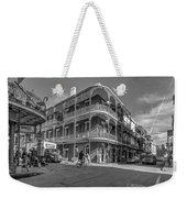French Quarter Afternoon Bw Weekender Tote Bag by Steve Harrington