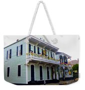 French Quarter Architecture Weekender Tote Bag