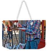 French Quarter Artist Weekender Tote Bag by Steve Harrington