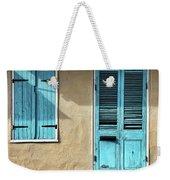 French Quarter Blues Weekender Tote Bag