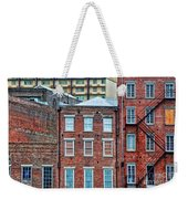 French Quarter Facades New Orleans Weekender Tote Bag