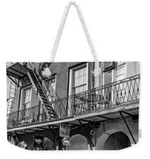 French Quarter Flair Bw Weekender Tote Bag