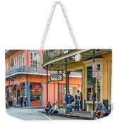French Quarter - Hangin' Out Weekender Tote Bag