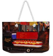 French Quarter Late At Night Weekender Tote Bag