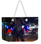 French Quarter Monster Weekender Tote Bag