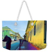 French Quarter Street Weekender Tote Bag