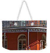 French Quarter Tete A Tete Weekender Tote Bag