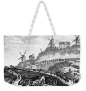 French Revolution Paris Weekender Tote Bag