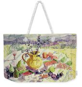 French Table Weekender Tote Bag
