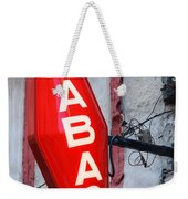 French Tobacconist Sign Weekender Tote Bag