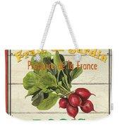 French Vegetable Sign 1 Weekender Tote Bag by Debbie DeWitt