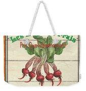 French Vegetable Sign 4 Weekender Tote Bag by Debbie DeWitt