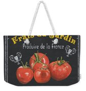 French Vegetables 1 Weekender Tote Bag
